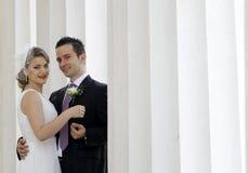 Couples de mariage Photo libre de droits