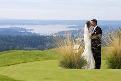 Couples de mariage Photographie stock libre de droits