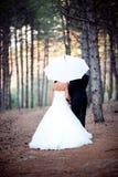Couples de mariage Photos libres de droits