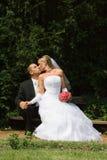 Couples de mariage Photos stock