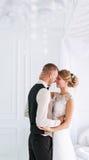 Couples de mariage dans l'amour Image libre de droits