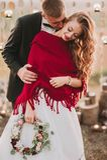Couples de mariage le soir Photographie stock