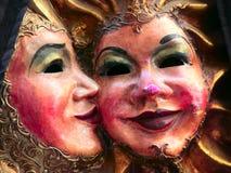 Couples de masque Image libre de droits