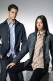Couples de mode Photo libre de droits