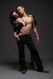 Couples de mode Image libre de droits