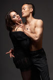 Couples de mode photos libres de droits