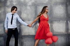 Couples de mode Images libres de droits