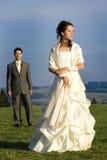 Couples de nouveaux mariés Photographie stock libre de droits