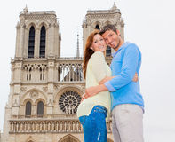 Couples de Paris Images libres de droits
