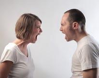 Couples de problème Image libre de droits