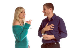 Couples de réception Images stock
