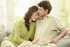 Couples de repos Images libres de droits