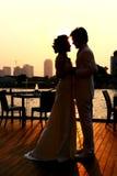 Couples de Ronmantic Photos libres de droits