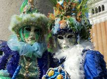Couples de Seashell de Venise Image libre de droits
