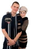 Couples de SKETCH photo stock