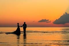 Couples de SKETCH Images stock