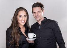 Couples de sourire caucasiens Image stock