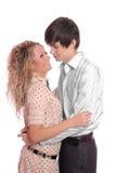 Couples de sourire heureux Image stock