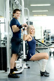 Couples de sport Photos stock