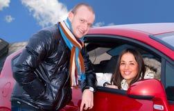 couples de véhicule Images libres de droits