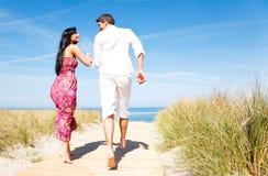 Couples de vacances Image libre de droits
