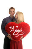 Couples de Valentine Photographie stock