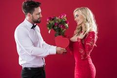 Couples de valentines image stock