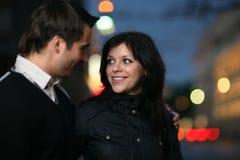 couples de ville Photo libre de droits