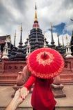Couples de voyage en Thaïlande Images stock
