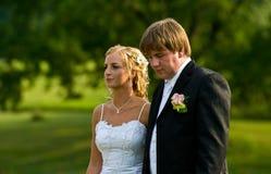 Couples de Wdding images libres de droits