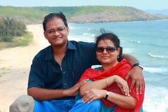 Couples de week-end Image libre de droits