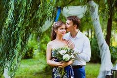 Couples de Yang dans l'amour Photo stock