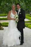Couples debout de mariage Images libres de droits