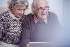 Couples des aînés Photo libre de droits