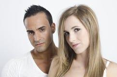 Couples des amants Photos stock