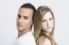 Couples des amants Image libre de droits