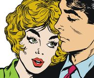 Couples des amoureux Images stock