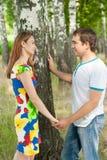 Couples des amoureux Photos libres de droits