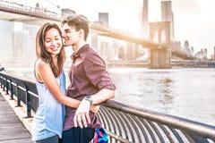 Couples des amoureux Images libres de droits