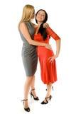 Couples des dames chaudes Photos libres de droits