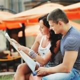 Couples des touristes Photo libre de droits