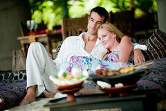 Couples des vacances Photos libres de droits