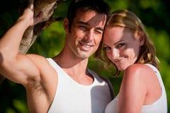 Couples des vacances Photo stock