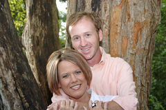 Couples doux Photo stock