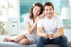 Couples doux Image stock