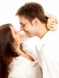 Couples doux Image libre de droits