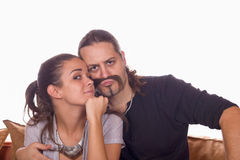Couples drôles Photos stock