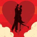 Couples du nuage neuf Photographie stock libre de droits