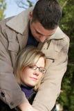 Couples en automne photographie stock
