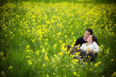 Couples en nature Photos stock